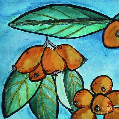Painting - Loquats I by Kim Nelson