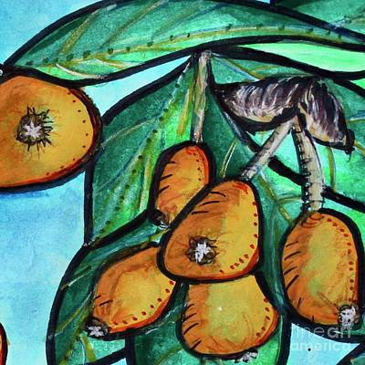 Painting - Loquats II by Kim Nelson