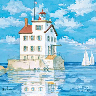 Lorain Lighthouse Art Print