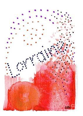 Painting - Lorainne 2 by Corinne Carroll