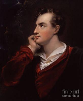 Lord Byron, English Romantic Poet Art Print
