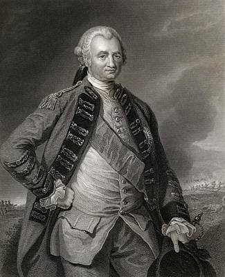 Lord Clive Engraving From A Painting By Art Print