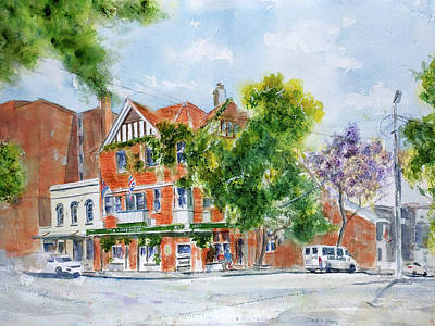 Lord Dudley Hotel Art Print