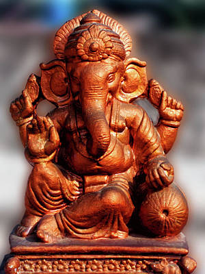Photograph - Lord Ganesha by Amar Singha