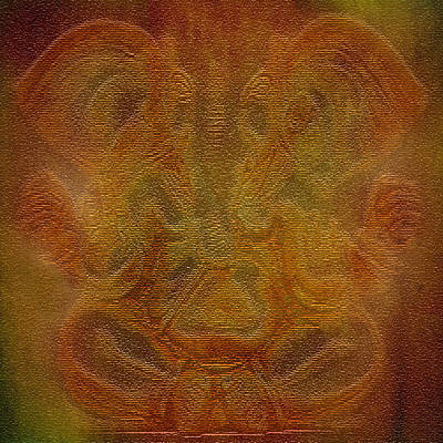 Diwali Digital Art - Lord Ganesha by Art Spectrum