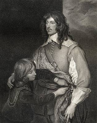 Lord George Goring 1608-1657. English Art Print by Vintage Design Pics