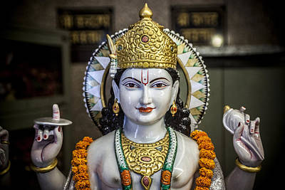 Photograph - Lord Vishnu by Azad Pirayandeh