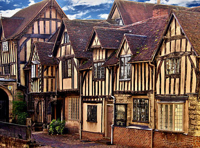 Lord Leycester Hopital Print by Nick Eagles