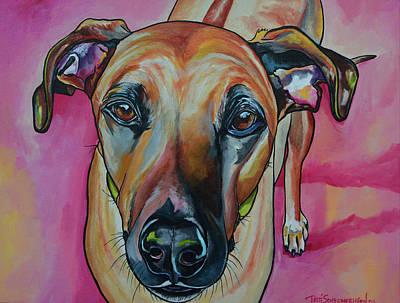 Painting - Lord Maximus by Patti Schermerhorn