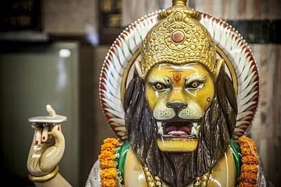 Photograph - Lord Narasimha by Azad Pirayandeh