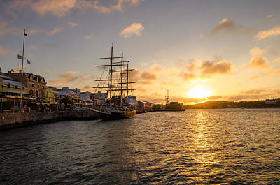 Photograph - Lord Nelson At Sunrise In Hamilton by Jeff at JSJ Photography