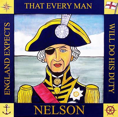 Trafalgar Painting - Lord Nelson by Paul Helm
