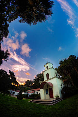 Photograph - Lord Of Life Lutheran Church Twilight by Chris Bordeleau