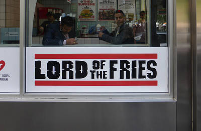 Photograph - Lord Of The Fries by Bruce