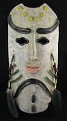 Ceramic Art - Lord Of The Woods by Judy  Hensley