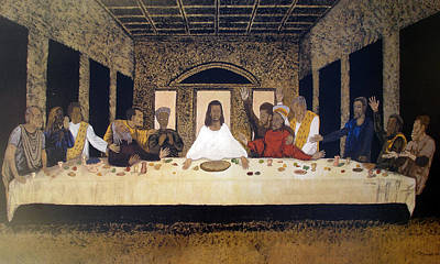 Lord Supper Art Print