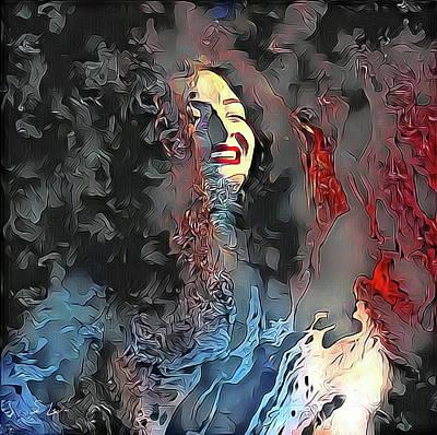 Digital Art - Lorde by S Art