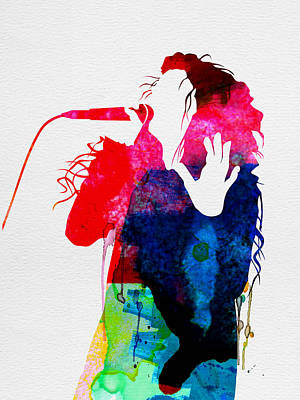Band Digital Art - Lorde Watercolor by Naxart Studio