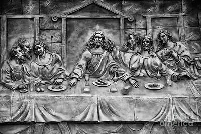 Photograph - Lord's Holy Supper by Kiran Joshi