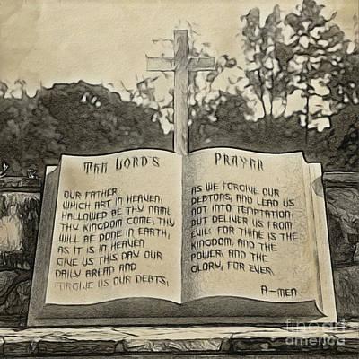 Photograph - Lord's Prayer by Patrick M Lynch