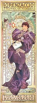 Painting - Lorenzaccio by Alphonse Mucha