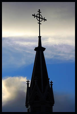 Photograph - Loretta Chapel Steeple by Ginger Wakem