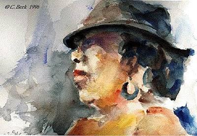 Painting - Loretta by Chuck Berk