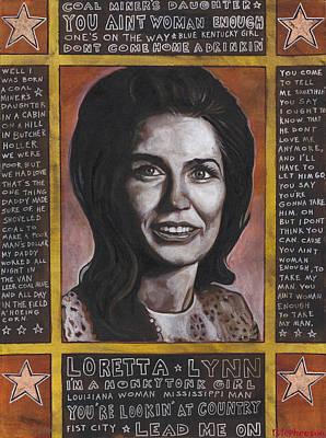 Loretta Art Print
