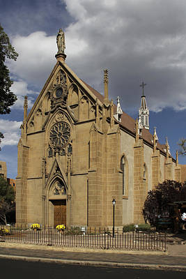 Santa Fe Photograph - Loretto Chapel - Santa Fe by Mike McGlothlen