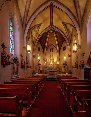 Photograph - Loretto Chapel-santa Fe by Tim Bryan