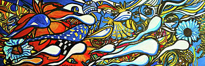 Orgy Painting - L'orgie by Adam Boarman