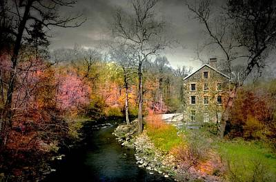 Photograph - Lorilard Mill by Diana Angstadt