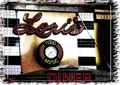 Digital Art - Lori's Diner by Lori Mellen-Pagliaro