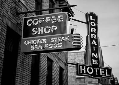 Lorraine Hotel Coffee Shop #3 Art Print by Stephen Stookey