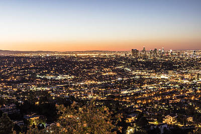 Photograph - Los Angeles Sunrise by John McGraw