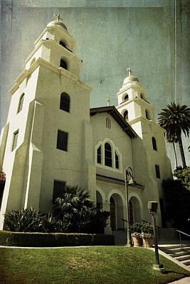 Beverly Hills Church Art Print by Scott Pellegrin