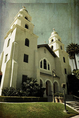 Beverly Hills Church Art Print