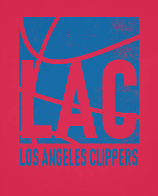 Mixed Media - Los Angeles Clippers City Poster Art by Joe Hamilton