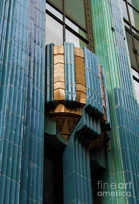 Photograph - Los Angeles Deco Eastern Building by Gregory Dyer
