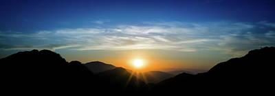 Photograph - Los Angeles Desert Mountain Sunset by T Brian Jones