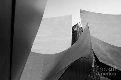 Los Angeles Disney Concert Hall 30 Art Print by Micah May