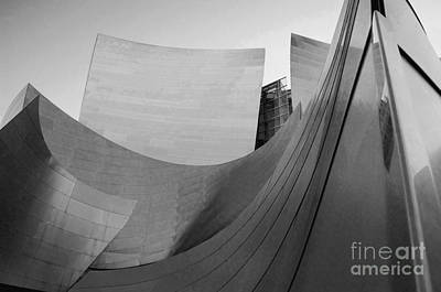 Los Angeles Disney Concert Hall 32 Art Print by Micah May