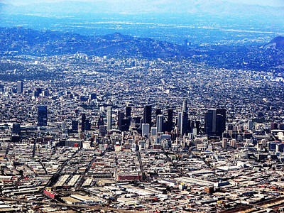 Photograph - Los Angeles by Judi Saunders