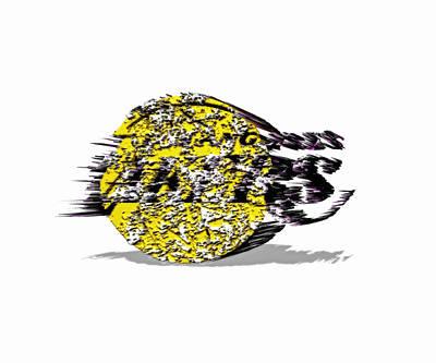 Los Angeles Lakers 6a Art Print