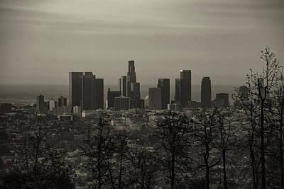 Photograph - Los Angeles Long Shot by Joseph Hollingsworth