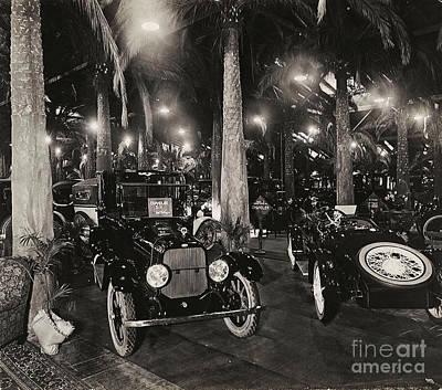 Photograph - Los Angeles Motor Car Show 1917 Chanler Motor Car by Peter Gumaer Ogden