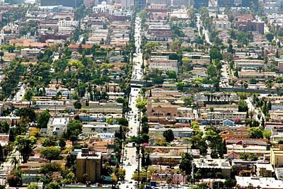 Photograph - Los Angeles Neighborhood by Gary Dunkel