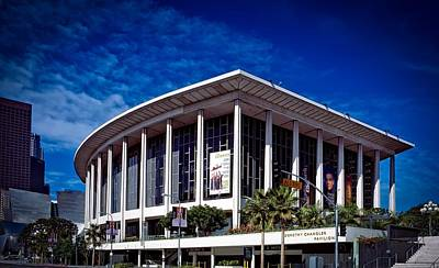 Los Angeles Opera Building - Chandler Pavilion Print by Mountain Dreams