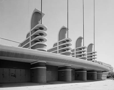 Los Angeles, Pan Pacific Auditorium Art Print by Everett