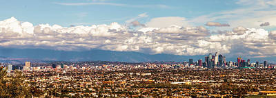 Photograph - Los Angeles Pano by April Reppucci